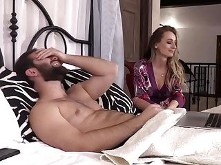Buxomy Blonde Lady, Natasha Starr Is Cheating On Her Hubby And Having A Real Blast