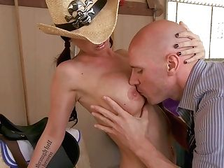 Big Titted Country Chick Brandy Aniston Is Sexy And Horny