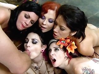 Joanna Angel And Horny Breezies Group Intercourse
