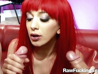Raw Fucking Fuck-fest - Readhead Bailey Get Dual Penatration