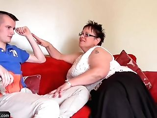 Agedlove Bbw Chubby Granny Honey And  Bourne