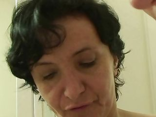 Cheating Fuck-a-thon With Hairy-coochie Old Mom-in-law