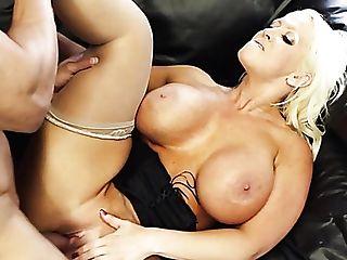 Big Jugged Voluptuous Blonde Lady Alura Jenson Loves Ass-smothering