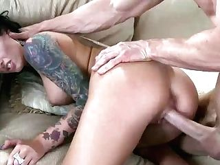 Gorgeous Big Titted Black-haired Porn Industry Star Christy Mack Has Good Time