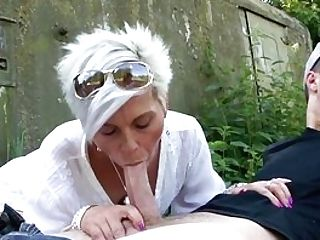 Naked Matures Gets Her Palms On A Youthful Man Meat She Can Rail