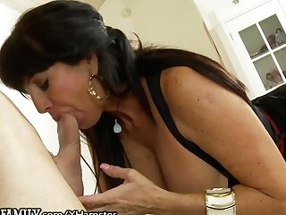 Outofthefamily Latina Cougar Mom Hot For Stepson's Member
