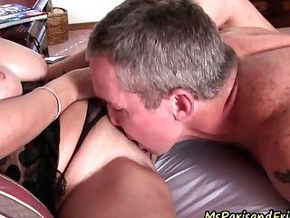 His World Revolves Around Big Tits And Fresh Vag
