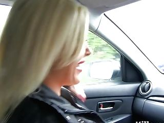 Hot Blonde Mummy Fucks Cab Driver