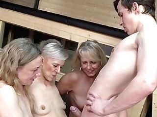 Matures Share A Chisel Together In Without Mercy Group Xxx