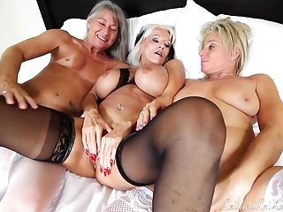 Gilf Sally Tempts The Maid Service For Threesome With Sally D'angelo, Payton Hall And Leilani Lei