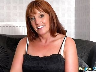 Europemature Beau Diamond Sexy Matures Solo Showoff