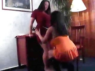 Bea Flora Aneta Buena - Crimson And Orange Hd (ai Upscale)