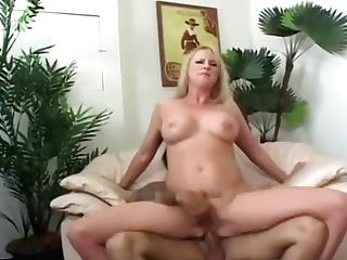 Blonde Cougar Takes Lengthy Trunk In Asshole In Office