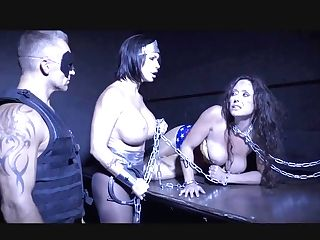 Shay Fox With Big-boobed Summer Day And Christina Carters Chained In Domination & Submission Act