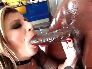 Sara Jay Likes A Big Black Trunk