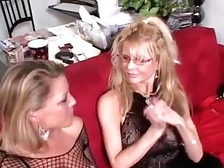 Ravishing Beauties Mistreat A Fellow By Face-sitting On Him