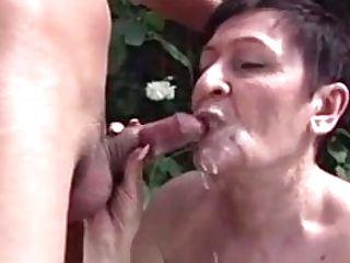 Grandmother Cum-shots Anastasia