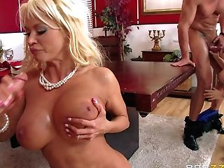 Casey Cumz And Nikita Von James Are Sinfully Sexy Wives