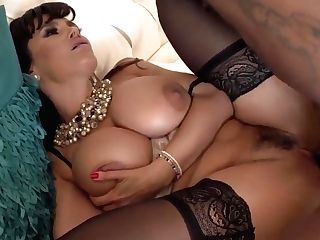 Horny Cougar Fucked By Black Stud