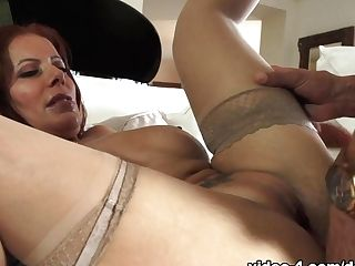 Exotic Sex Industry Star Marco Banderas In Fabulous Stockings, Latina Adult Vid