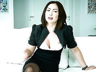Amazing Horny Interview With Flirty Sexy Pornography Actress Yasmin Scott